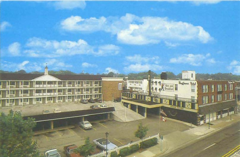 Mayflower Hotel Site Plymouthmidiscoveries